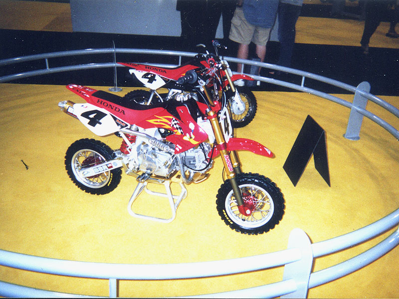 CRF150F At Dealer Show
