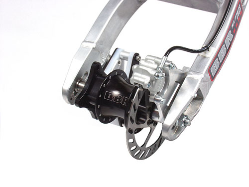 Rear disk brake kit for the CRF/XR50