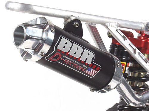 New D-Section exhaust from BBR Motorsports