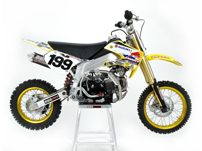 Pastrana DRZ110 Right Side