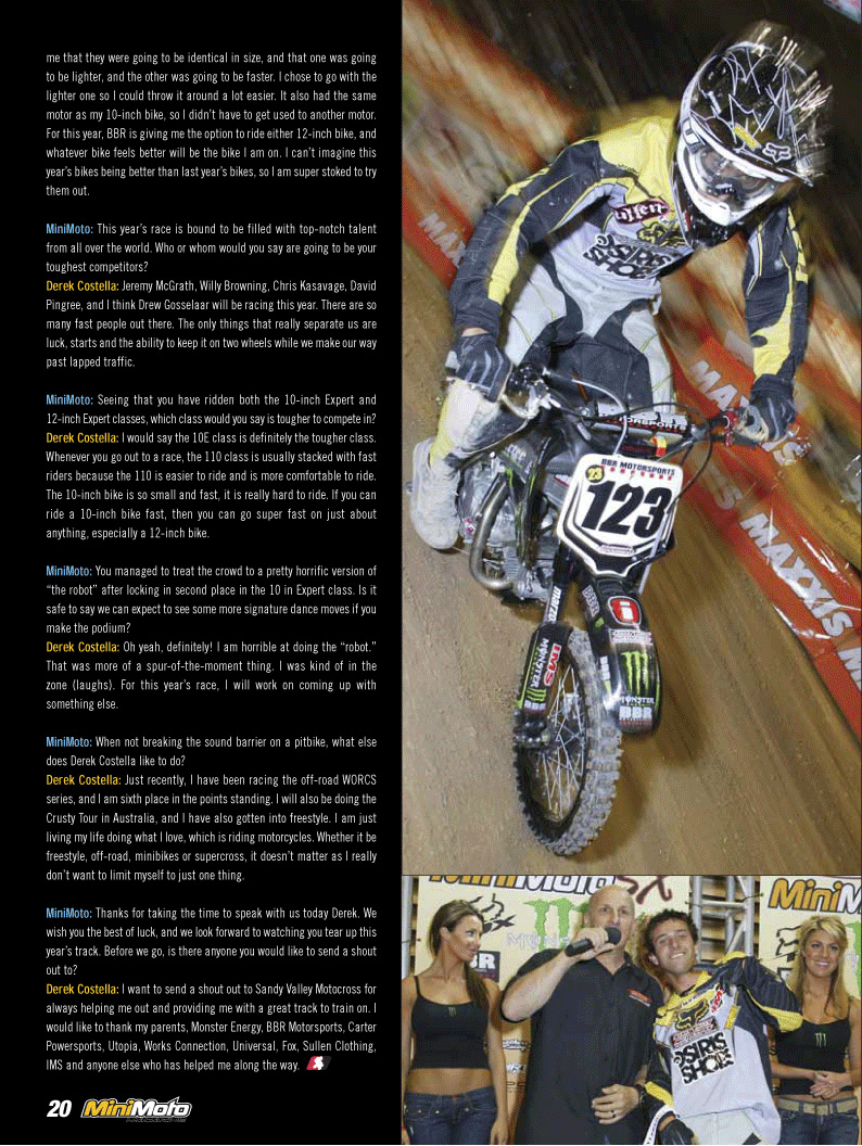 MiniMoto 2007 Issue 3 - Page 3