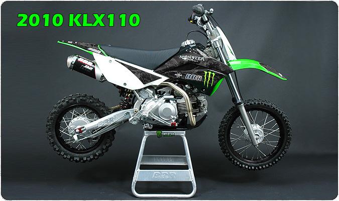 bbr motorsports, inc - 2010 kawasaki klx110 and klx110l