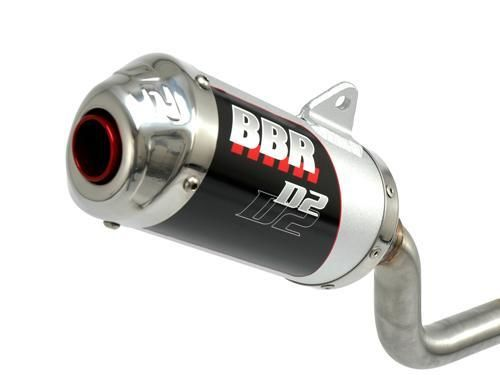 Exhaust System - D2, Silver / CRF230L