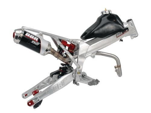 "Frame Kit - Perimeter +2""/+5"" w/Supercomp Adj. Swingarm / XR/CRF50"