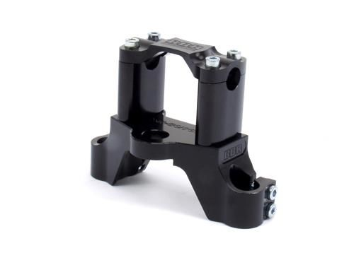 Tripleclamp -  Black / XR/CRF80/100, 85-Present