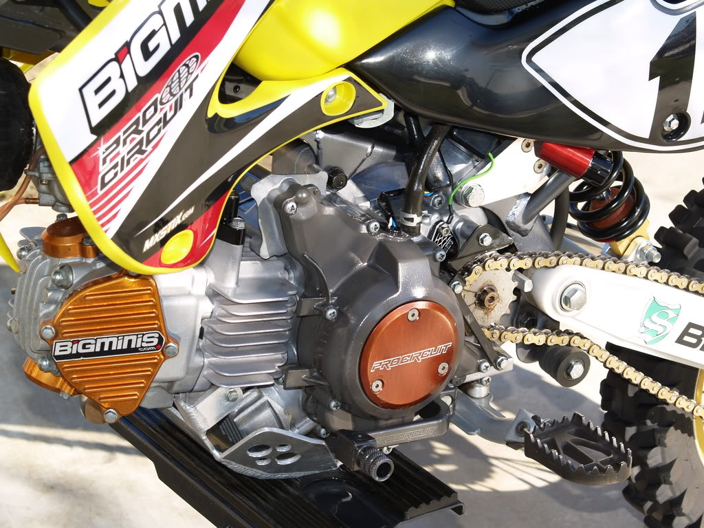 Big Minis KLX Engine Covers