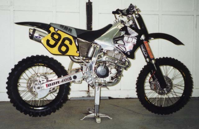 Early BBR Aluminum Framed XR400