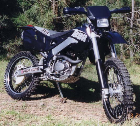 Early XR200 Conversion