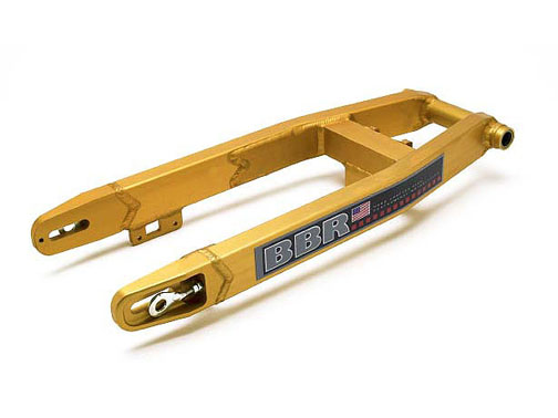 BBR Gold CRF100 (XR100) Swingarm