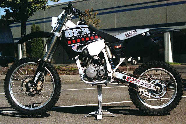 BBR Steel Frame XR200 Conversion
