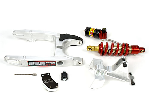 BBR Super Pro swingarm kit for the KLX110