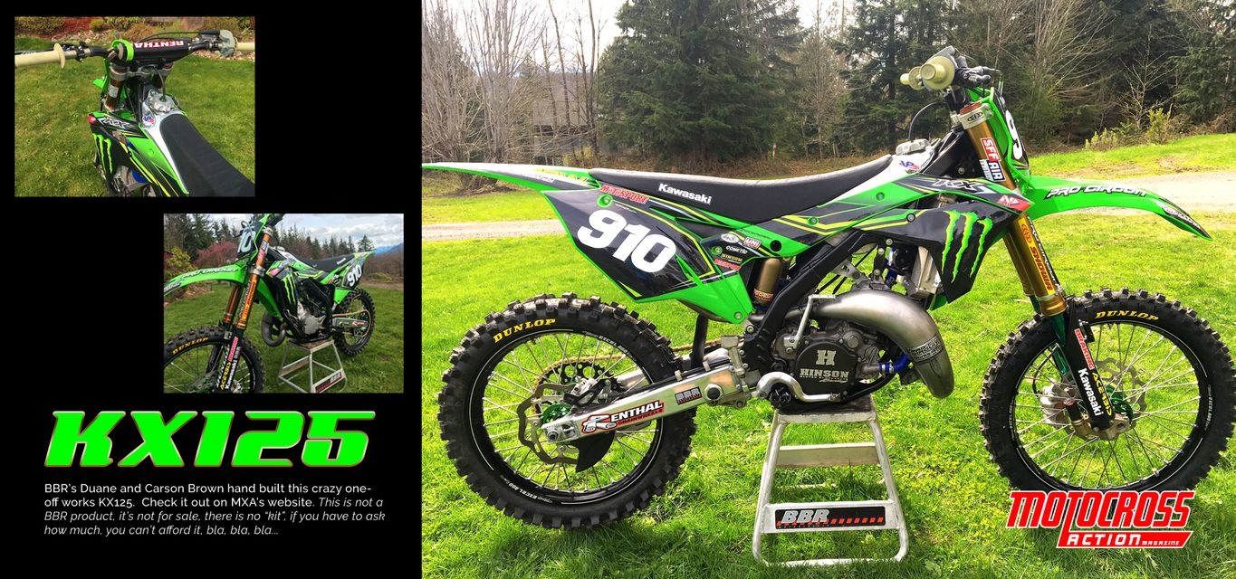 Bbr Motorsports Inc Home Crf50 Pit Bike Wiring Works Kx125 Featured On Motocross Action Website