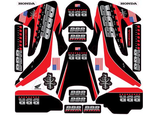 BBR CRF150R Graphics Kit