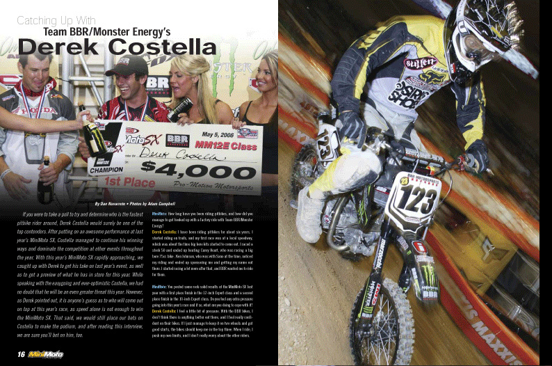 MiniMoto 2007 Issue 3 - Page 1