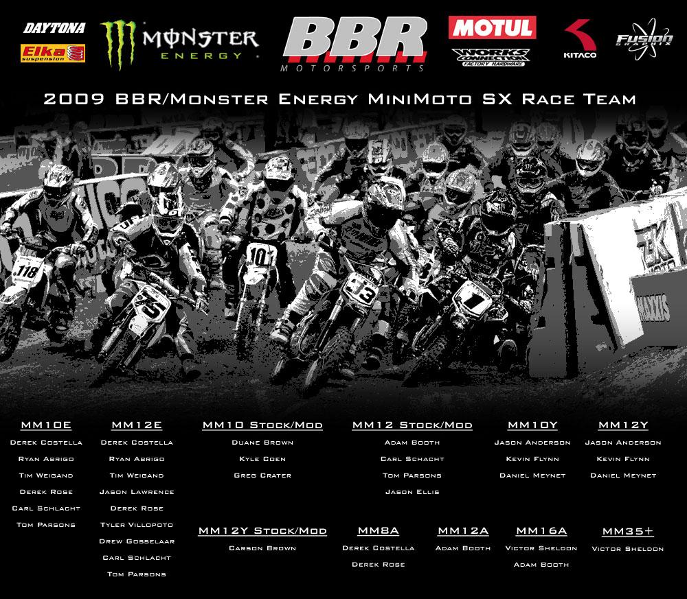2009 Bbr Minimoto Sx Team