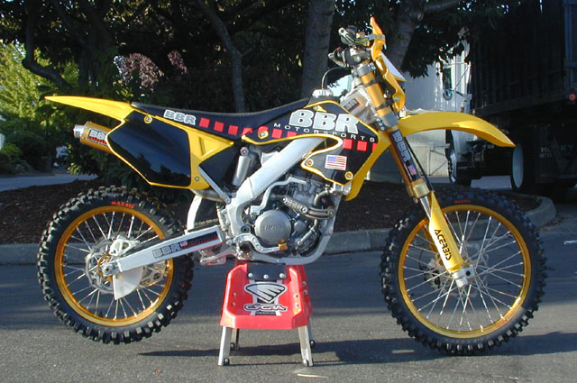 YZ426 Stuffed into CR250 Chassis