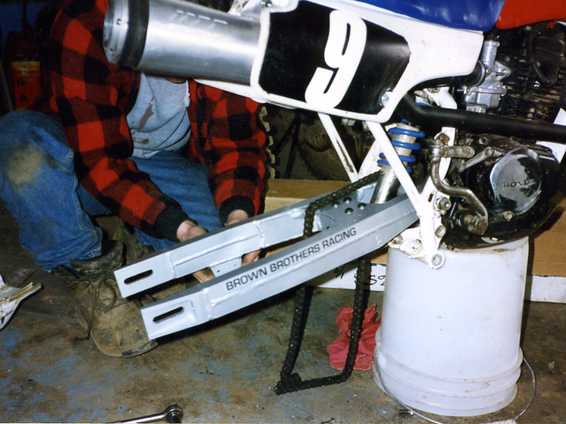 Early BBR XR100 Swingarm