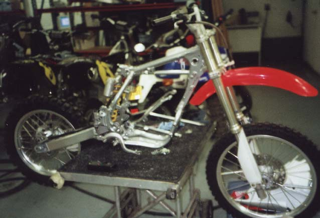 BBR Steel Frame Conversion