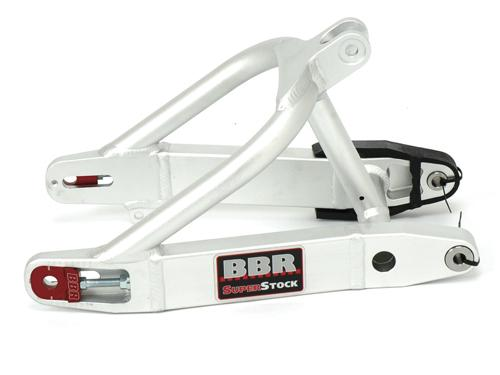 BBR Super Stock swingarm for the DRZ70