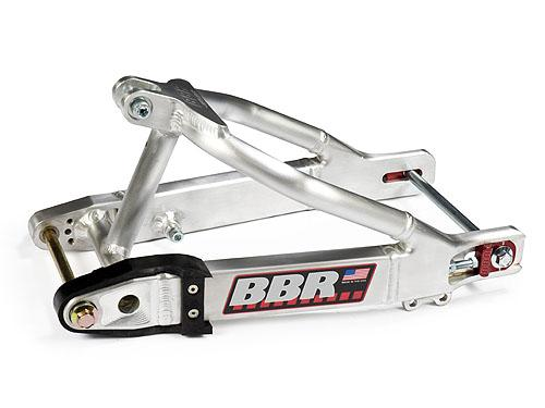 BBR Super Stock swingarm for the KLX110